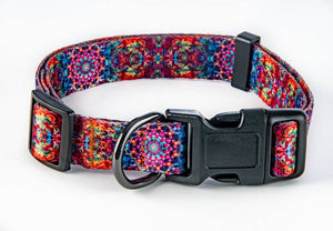 Orange/Pink mandala combo collar