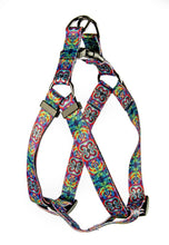 Load image into Gallery viewer, Blue Spiral pet Harness