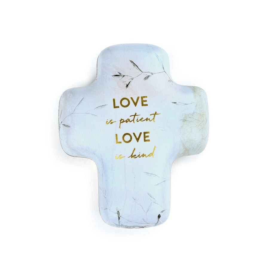 Love Is Artful Cross Keeper - Keepsake Dish