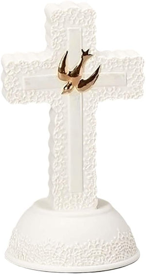 "7""H CONFIRMATION CROSS LACE"