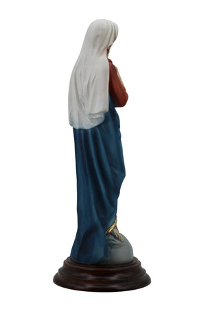 Virgin Mary and Child Jesus Over the World by The Faith Gift Collection