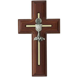 "5"" Rosewood Chalice Cross"