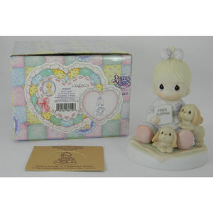 Precious Moments Baby Collection 1996 God Loveth A Cheerful Giver 272477