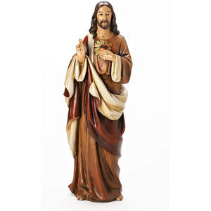 "Joseph's Studio by Roman - Sacred Heart of Jesus Figure, for 18"" Scale Renaissance Collection"