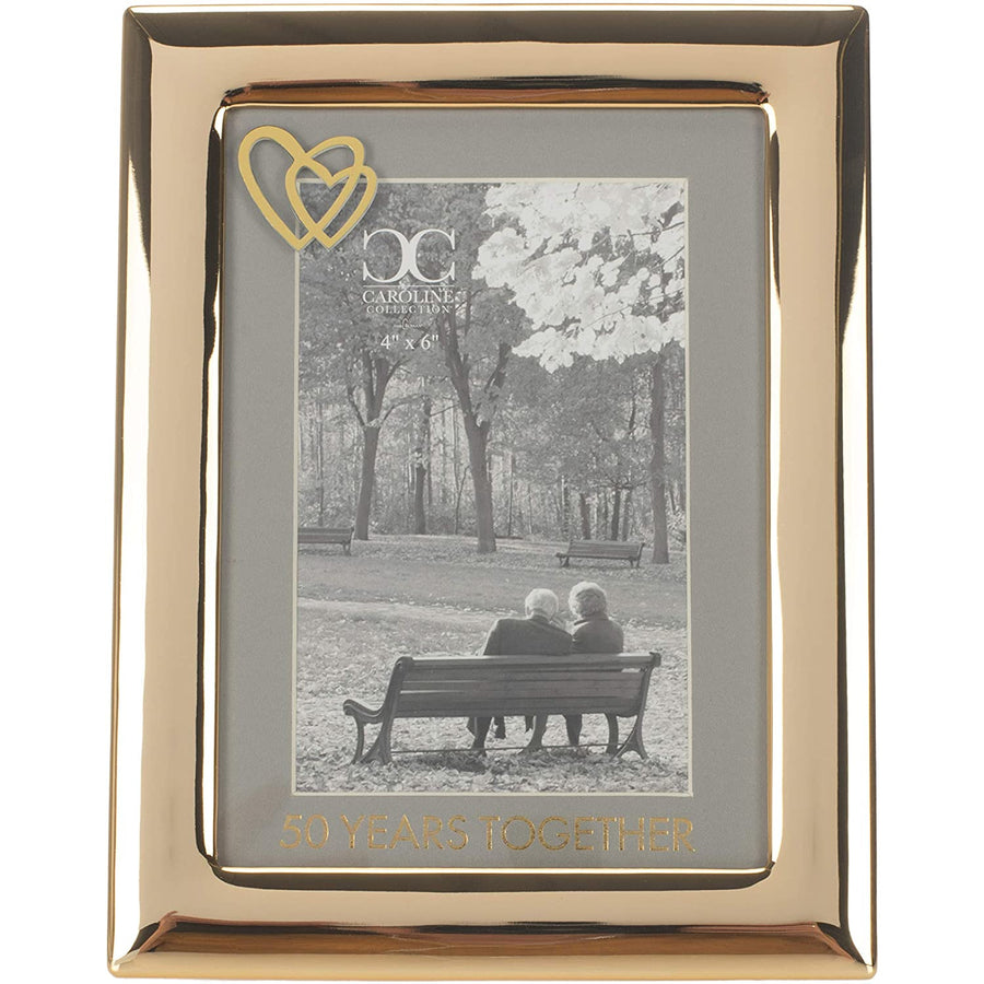 Roman 8-inch High 50 Years Together Picture Frame