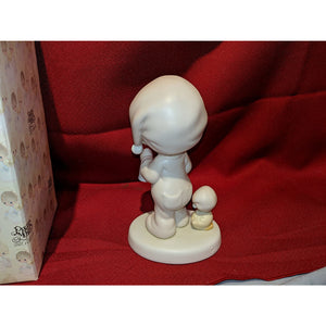"Precious Moments ""A Special Chime for Jesus"" Porcelain Figurine"