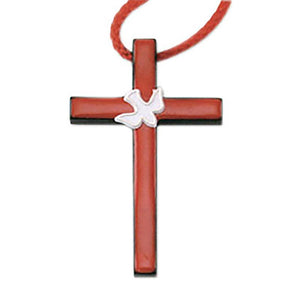 Confirmation Dove Cross Necklace