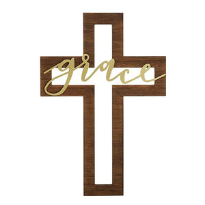 Grace Cut-Out Cross - 16""
