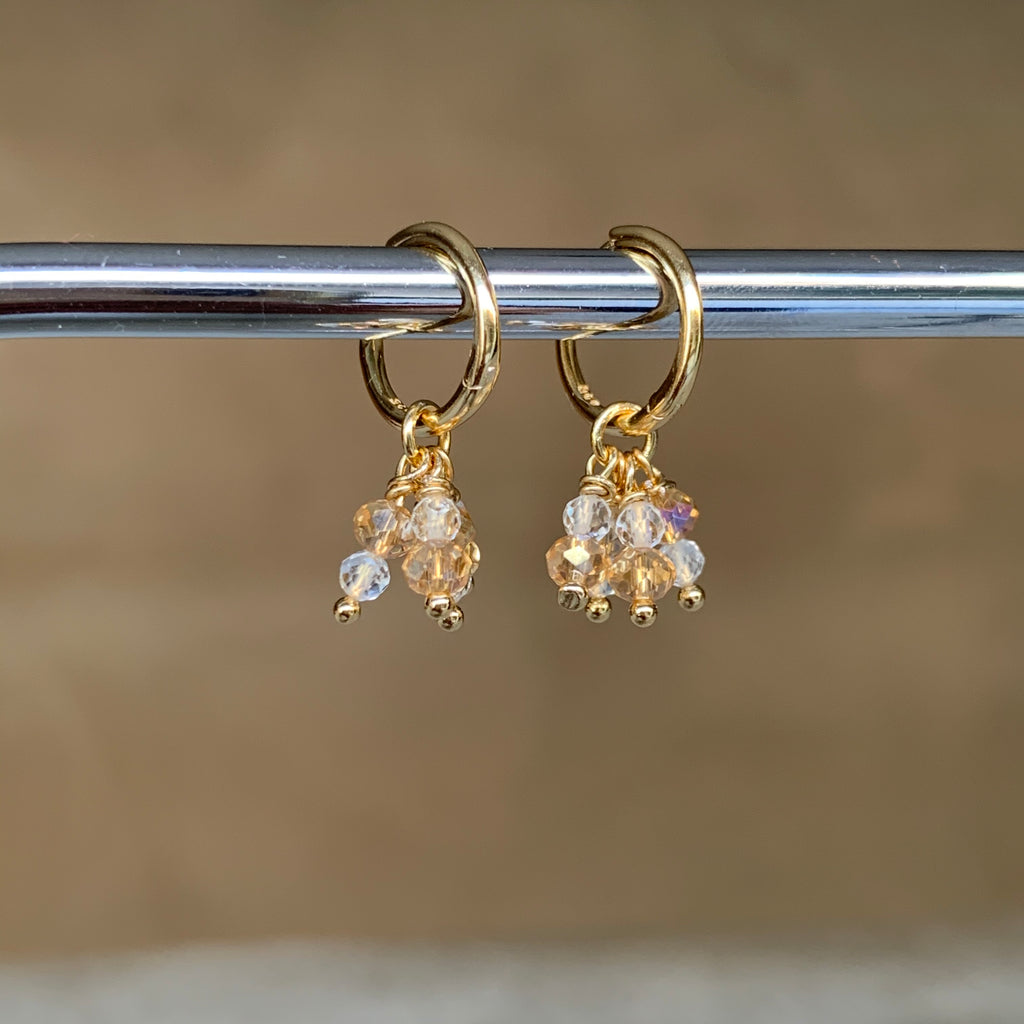 Marla Earrings in Citrine