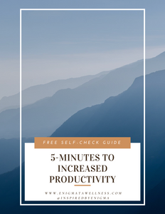 5-Minutes To Increased Productivity