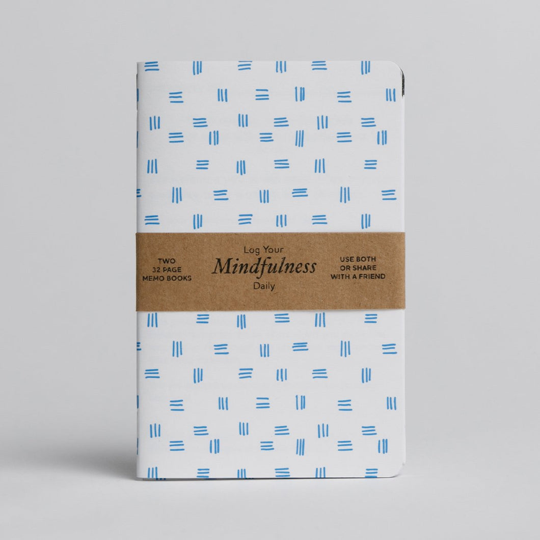 The Mindfulness Logbook - Two 32-page custom books