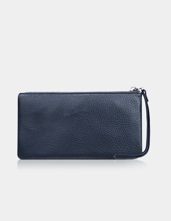 Carmen Clutch Dark Blue