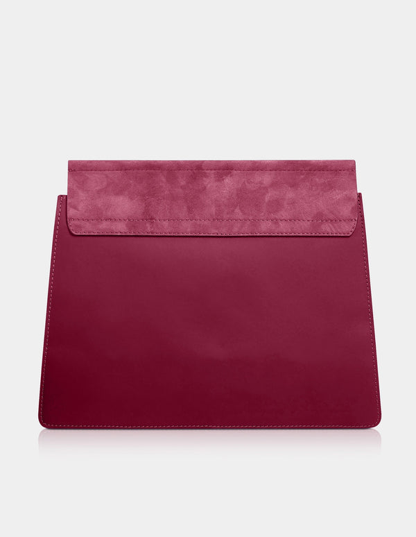 Lilly Clutch Bordeaux