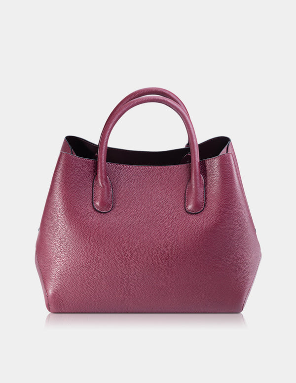 Tassia Handbag Bordeaux Red