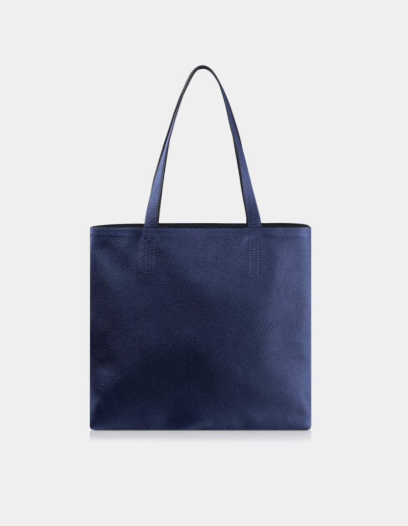 Olivia Shoulder Bag Dark Blue