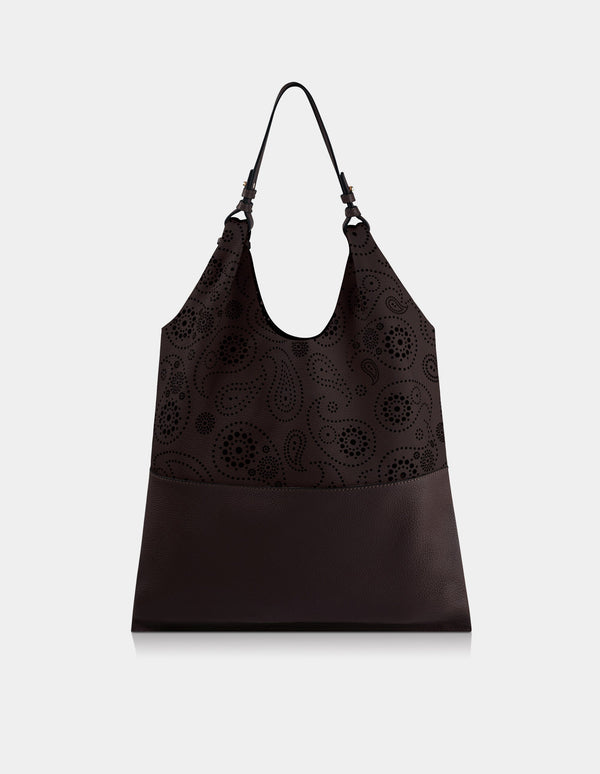 Juventas Shoulder Bag Dark Brown