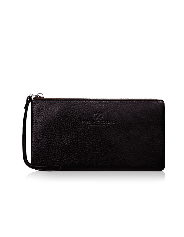 Carmen Clutch Dark Brown