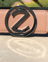 Dalia Dark Plated Buckle with Red Leather Belt