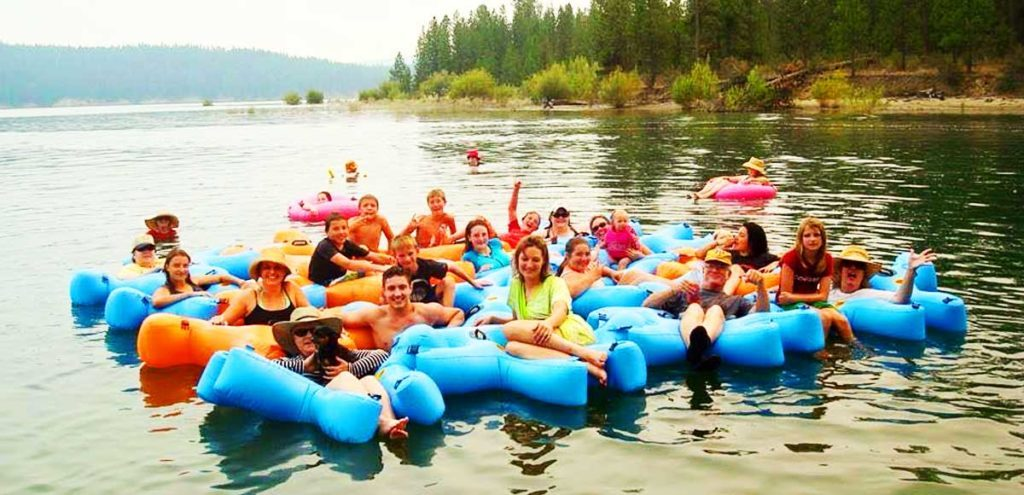 River Tubing Tips - Fluzzle Tube