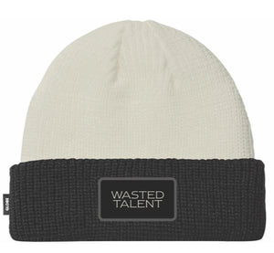 Beanie Wasted Talent White/Black