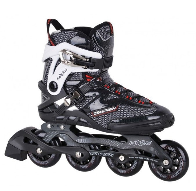 HX 1.6 Black/Red Skates