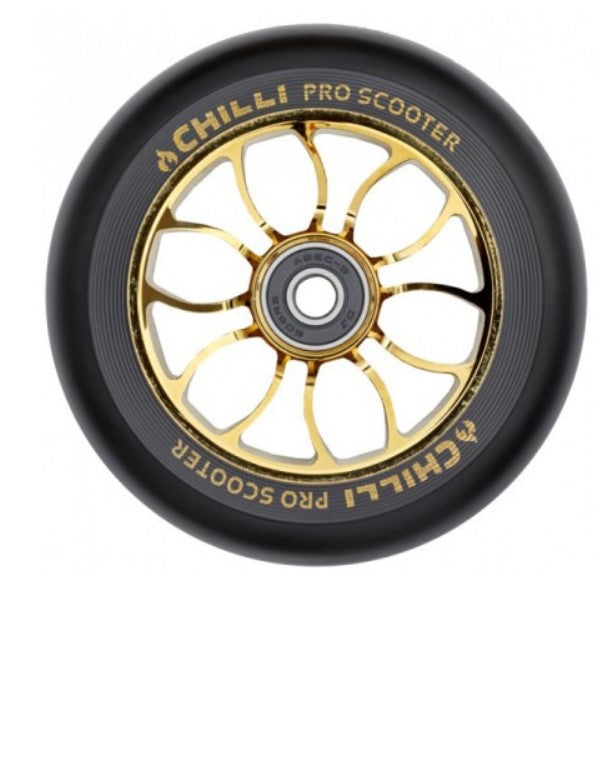 Wheel Reaper 110mm black PU/crown core