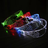 Wireless RGB LED Neon Glasses