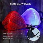 Mascarillas Iluminadas LED