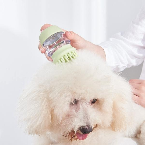 Soft Silicone Pet Bath Massage Brush Comb