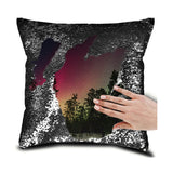Personalized Sequin Pillow Cushion Cover - 16*16""