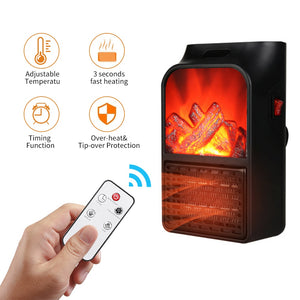 Mini Electric Fireplace Heater