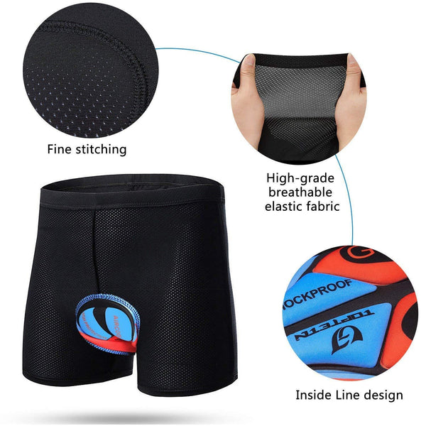 ComfyCycle - Premium 9D Cycling Underwear
