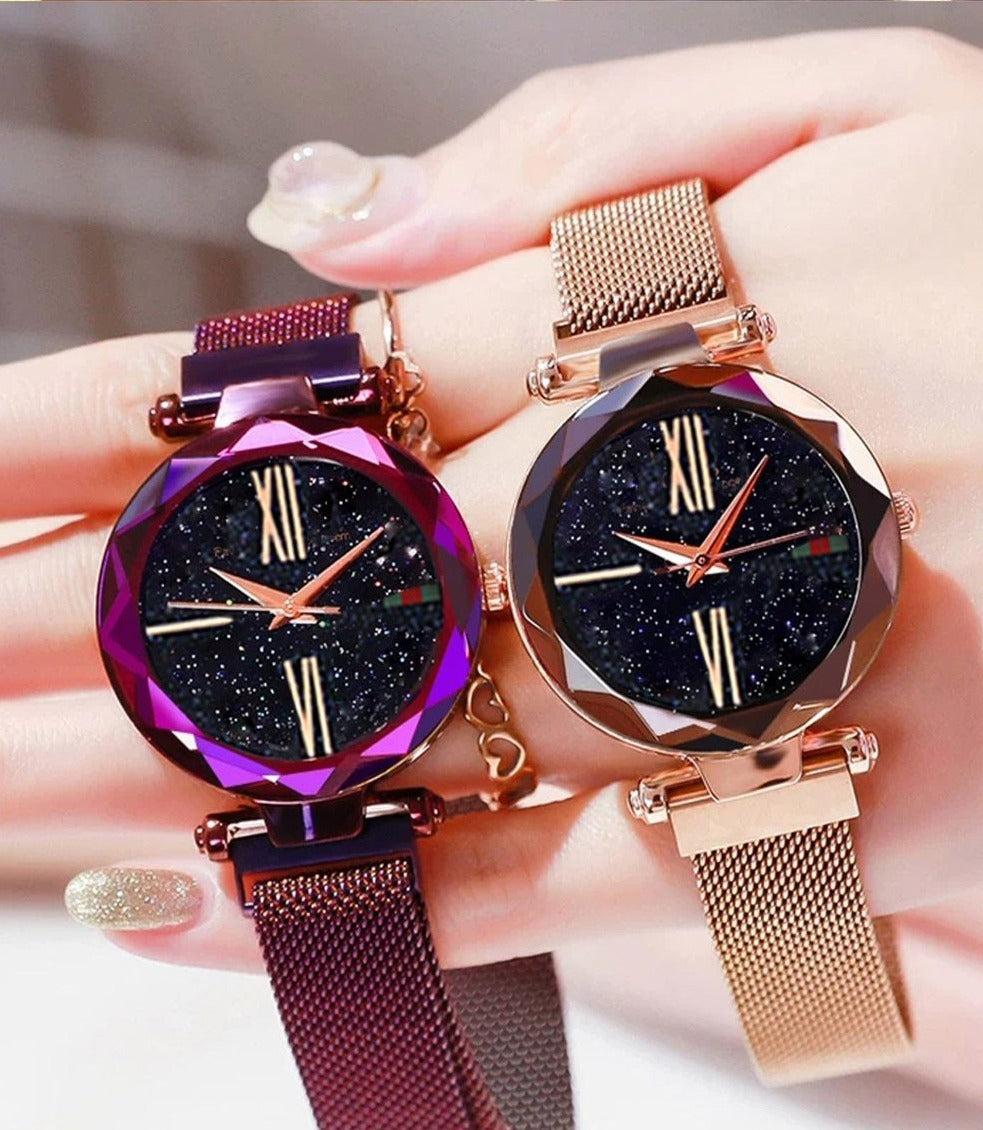 Buy 1 Take 1: Starry Sky Magnet Buckle Watch
