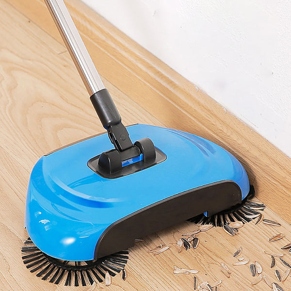 Revolutionary  Magic Broom Stainless Steel Sweeper