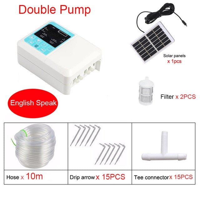 Solar Energy Charging Irrigation Pump Timer System