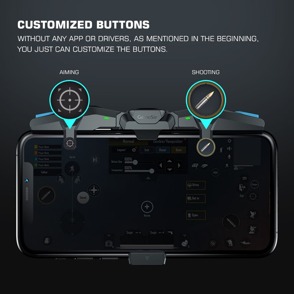 Mobile Game Controller PUBG Gamepad