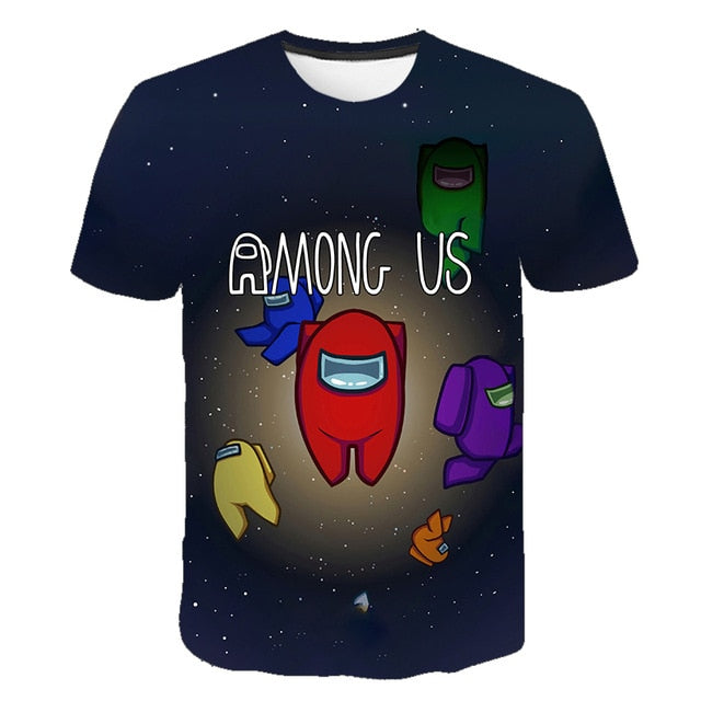 Among Us T Shirt 3D Prin