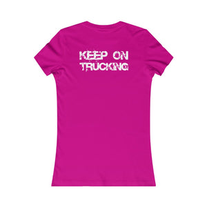 Women's Keep On Trucking Tee