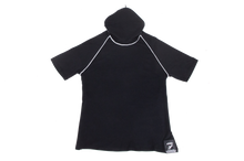 Load image into Gallery viewer, Pure-Air™  Kids Short Sleeve Black with Hood