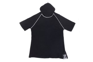 Pure-Air™  Kids Short Sleeve Black with Hood