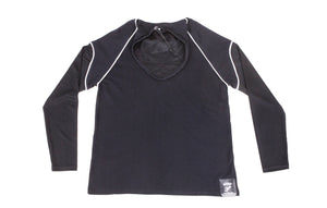 Pure-Air™  Short Sleeve Mens Black Longsleeve
