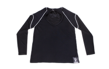Load image into Gallery viewer, Pure-Air™  Short Sleeve Mens Black Longsleeve