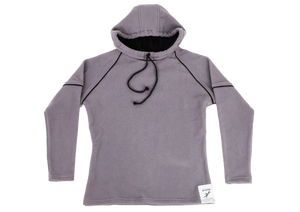 Pure-Air™  Mens Grey Fleece with Hood