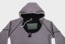 Load image into Gallery viewer, Pure-Air™  Mens Grey Fleece with Hood