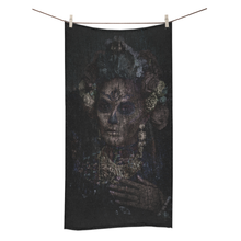 Load image into Gallery viewer, BeWitchy™ Day of the dead towel Bath Towel