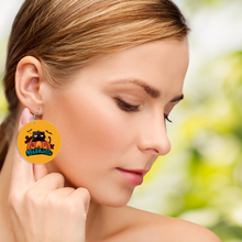 Load image into Gallery viewer, Halloween Wooden Earrings