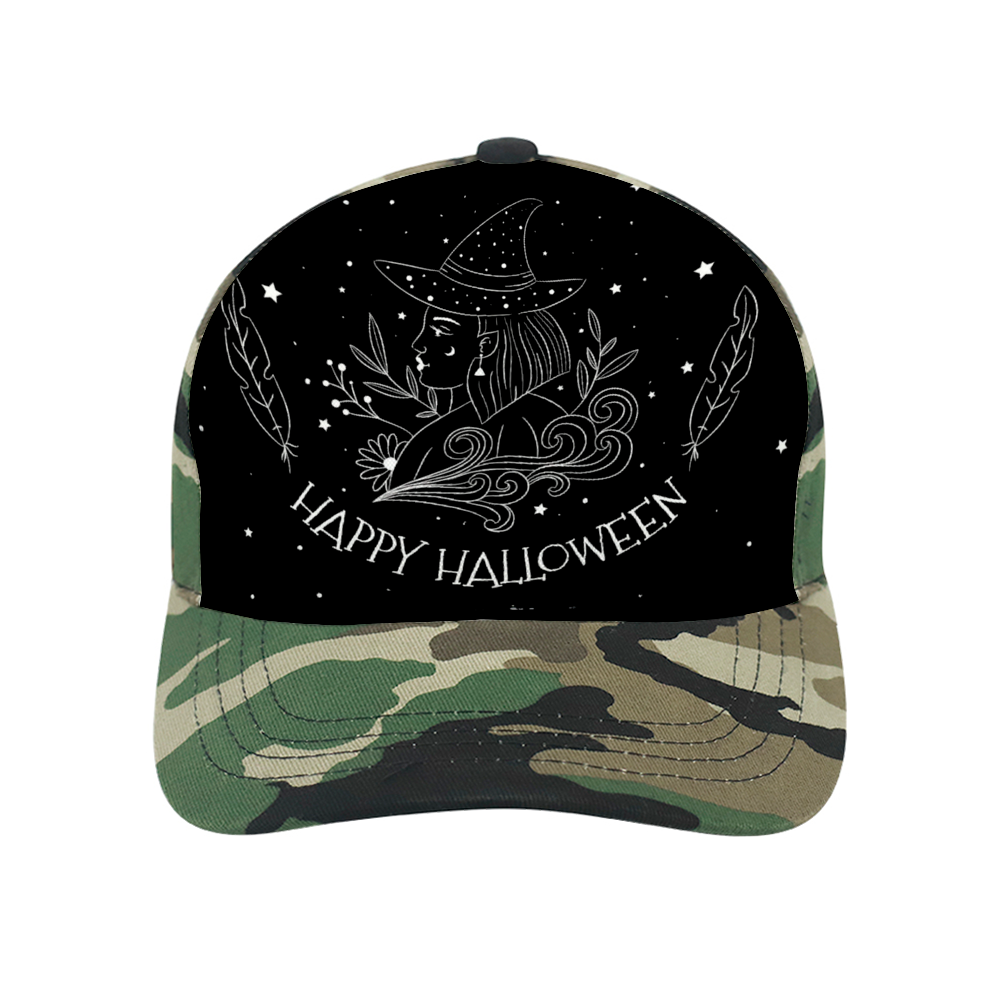 BeWitchy Adult Camo Baseball Hat