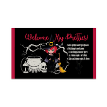 Load image into Gallery viewer, Welcome my pretties... Floor Mat Non Slip Mat