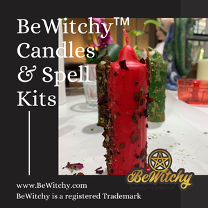 BeWitchy Candle Spell Kits (Find a New Job/Work)