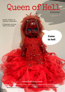 "BeWitchy™ ""Queen of Hell"" Doll"